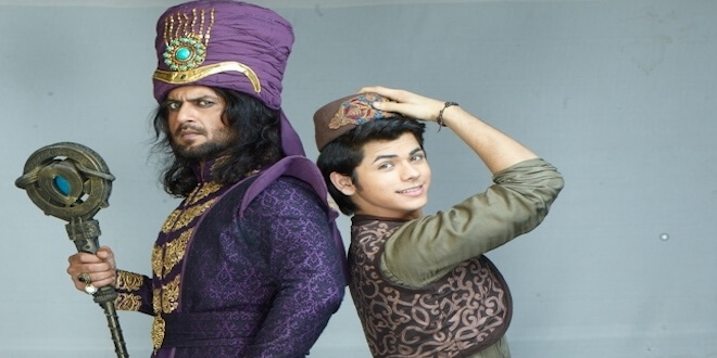 Aladdin's ghost to reveal Zafar's conspiracy in front of the entire kingdom