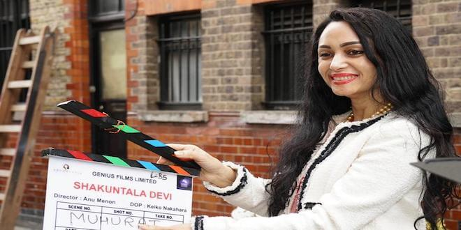 Vidya Balan makes Shakuntala Devi's daughter Anupama Banerji emotional on the sets of Shakuntala Devi!