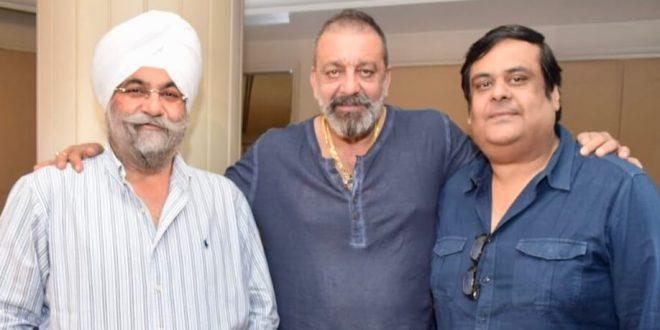 Raju Chadha & Rahul Mittra drop in at Prassthanam trailer launch in Delhi