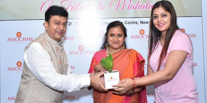 Sonal Jindal, Managing Partner, Medusa Source attended an ASSOCHAM panel discussion on Khadi- The Fabric of Freedom & Harmony