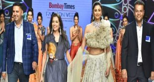Daisy Shah Turns Show Stopper For Designer Pallavi Goyal At Bombay Times Fashion Week