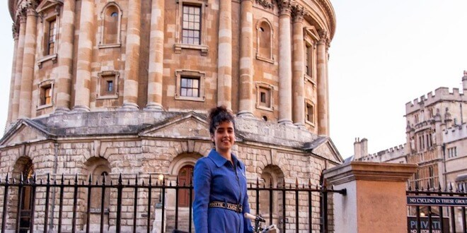 Oxford University invites Sanya Malhotra, actress wows the students