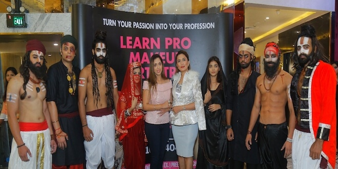 Movie Lal Kaptaan official Hair & Make-up Brand partners with Aashmeen Munjaal Star HAIR & MAKEUP ACADEMY
