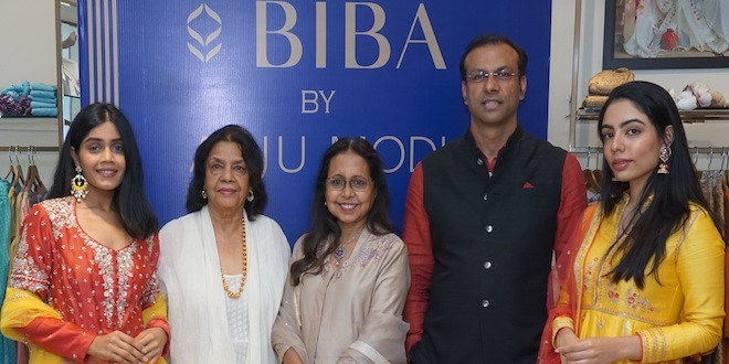 BIBA brings on board acclaimed designer Anju Modi this festive season and unveils a BIBA by Anju Modi Collection
