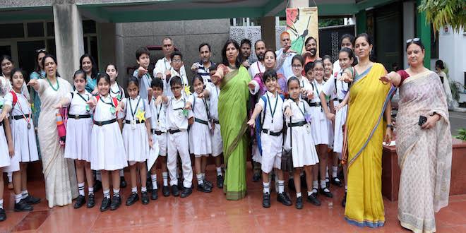 DPS RK Puram celebrated 150 years of Mahatma Gandhi
