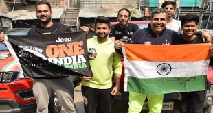 Shailendra Singh in the national capital as he inches closer to Kashmir