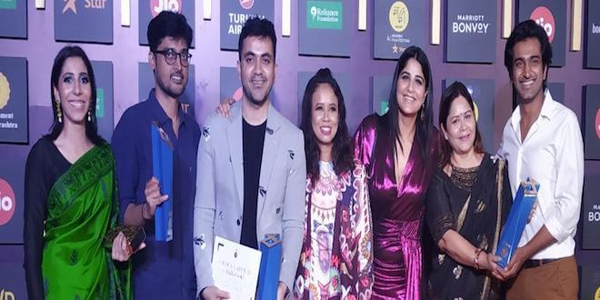 Producer Shwetaabh Singh's movies has been awarded for MAMI Film Festival in Mumbai.