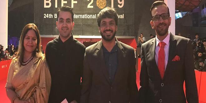 Producer Shwetaabh Singh in Busan International Film Festival
