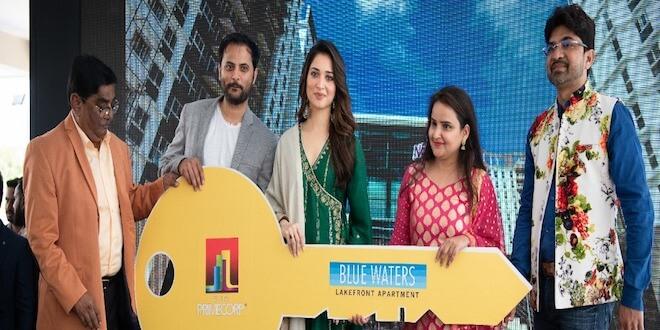 Tamannaah Bhatia inaugurates SJR Primecorp's Oyster Club
