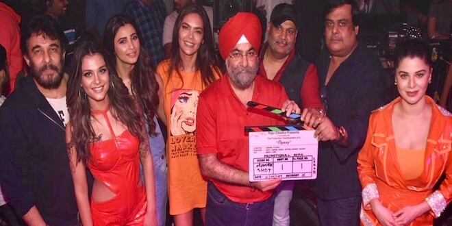 Tipsy shoot begins with Esha Gupta, Daisy Shah, Kainaat Arora, Alankrita Sahai & Nazia Hussain.