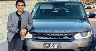 Dr. YUSOF MUTAHAR—- The soaring model and actor from Australia driving the way of prosperity.