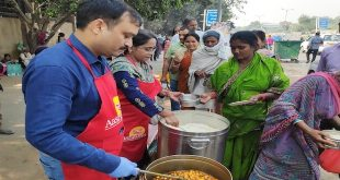Anmol Aashayein organised a Free Meal Distribution Campaign @ Safdarjung Hospital.