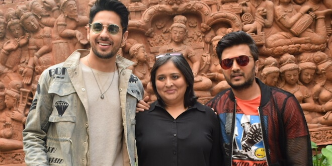 """""""Marjaavaan"""" Starcast Caught Promoting Their Film in National capital"""