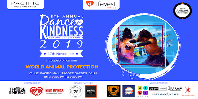 Delhi is getting ready for Dance For Kindness 2019 to show compassion towards animals