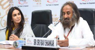 Sri Sri Ravi Shankar delivered key note address at 12th IWEC Awards & Conference