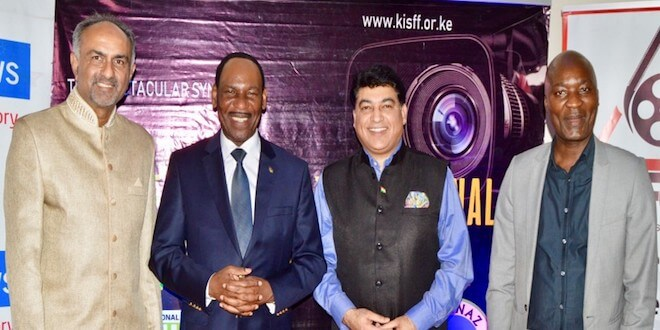 Captain Rahul Bali honoured at the Kenya International Sports Film Festival