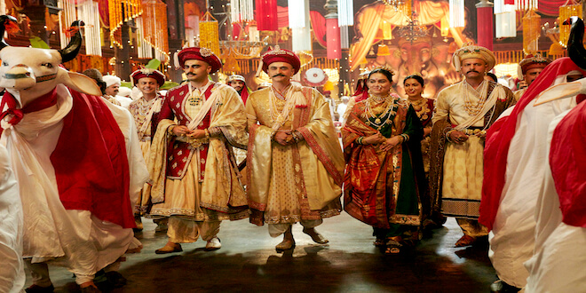 Panipat's First Song – 'Mard Maratha' Boasts Of A Whopping 1300 Dancers Defining Opulence At Its Best