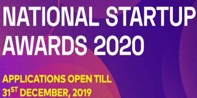 DPIIT invites applications for First Ever National Startup Awards 2020
