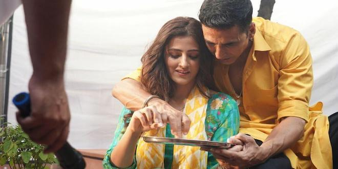 "Nupur Sanon on shooting with Akshay Kumar: ""Had butterflies in my stomach"""