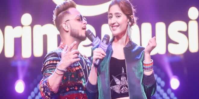 Dhvani Bhanushali and Millind Gaba Share The Stage for An Exciting New Mix