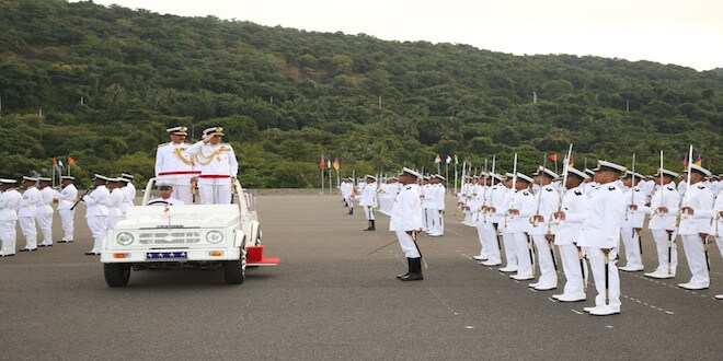 Passing Out Parade - Autumn Term 2019 held at INDIAN Naval Academy, Ezhimala