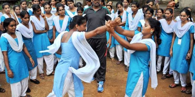 Government is providing Self-defence Training to Girls in schools and colleges through various initiatives