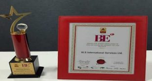 "BLS International honoured with""Brand Excellence Award in the Visa Outsourcing Service Sector"""