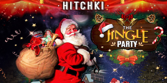 Hitchki raises a toast this Christmas Eve with The Jingle Party!