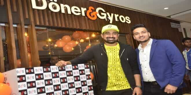 Rannvijay Singh launches the very first Doner & Gyros Outlet in Mumbai
