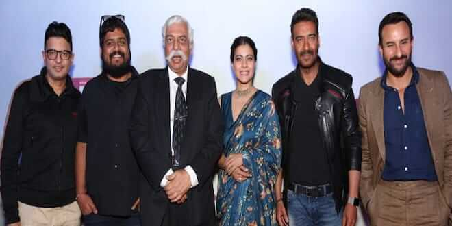 Tanhaji: The Unsung Warrior Starcast witnessed in Delhi For the launch of Second Movie Trailer