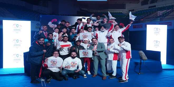 Gujarat Giants beats Bombay Bullets to reach maiden finals of the inaugural Big Bout Indian Boxing League 2019