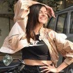 """Divya Khosla Kumar Promotes her Latest Song """" Yaad Piya Ki Aane Lagi """" in Delhi"""