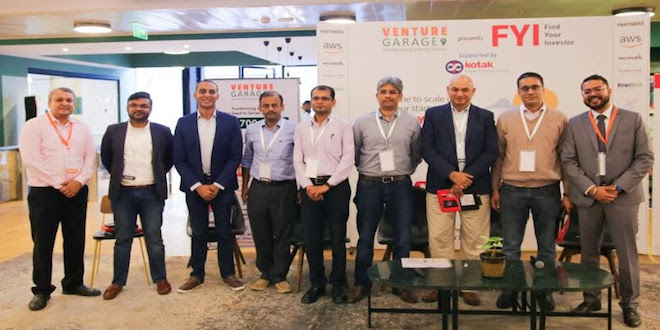 "Venture Garage Conducts ""Find Your Investor"" Programme in Bengaluru, Supported by Kotak Mahindra Bank"