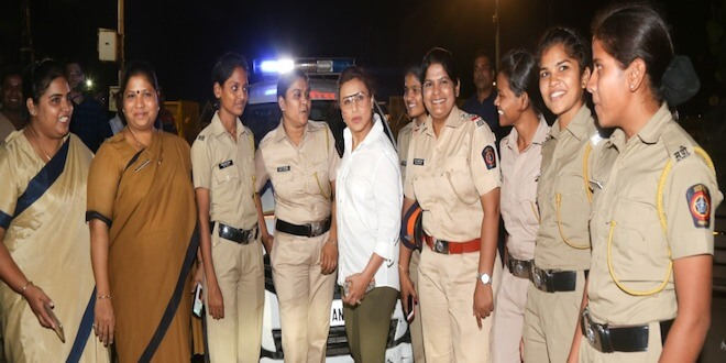 Rani meets special Night Patrol Police, gets tips for girls to stay safe while traveling at night!