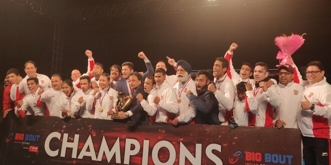 Gujarat Giants wins the maiden Big Bout Indian Boxing League 2019 title