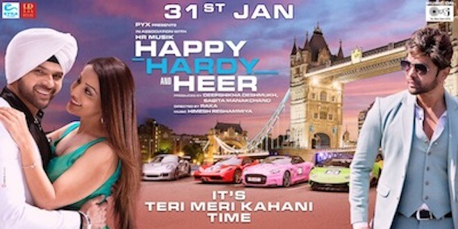First time in Bollywood ever, producer Deepshikha Deshmukh will have two releases on the same day, Saif Ali KHAN's Jawani Jaaneman and Himesh Reshammiya's Happy Hardy and Heer releasing on 31st jan