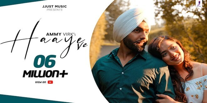 Jackky Bhagnani's Music Label Jjust Music Releases Ammy Virk's Haaye Ve