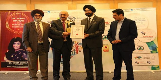 WTC Chandigarh Awarded the Most Promising Brand 2019 for Punjab and Haryana Region