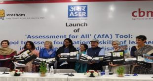CBM India Trust and Pratham Launch Assessment for All (AfA) Tool: A Tool to Assess Foundational Skills of Learners, Including Learners with Disabilities
