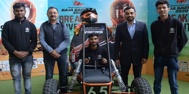 Mahindra kicks off the 13th edition of BAJA SAEINDIA 2020