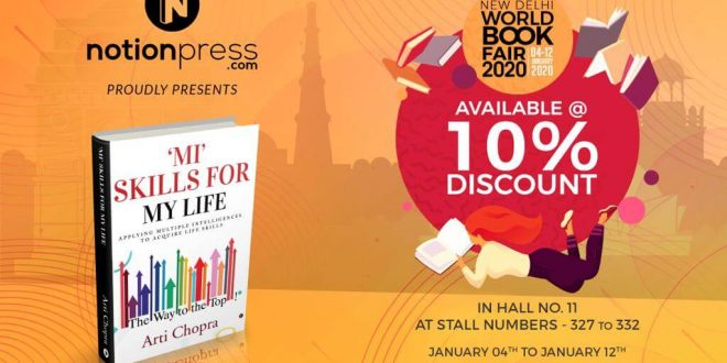 """MI Skills for My Life"" is available at India's biggest and oldest book fair"