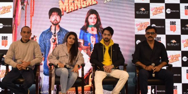Sab Kushal Mangal Starcast Spotted in Delhi for the Movie Promotions