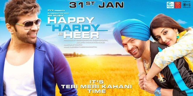 Happy Hardy and Heer trailer out today