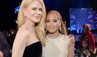 Jennifer Lopez and Nicole Kidman Wear Harry Winston Jewelry Set in Platinum to the 25th Annual Critics' Choice Awards