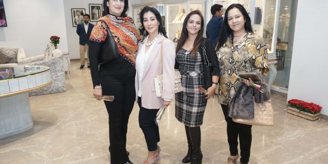 Archana Aggarwal hosts a dazzling evening to celebrate the launch of her special collection for Valentine's day