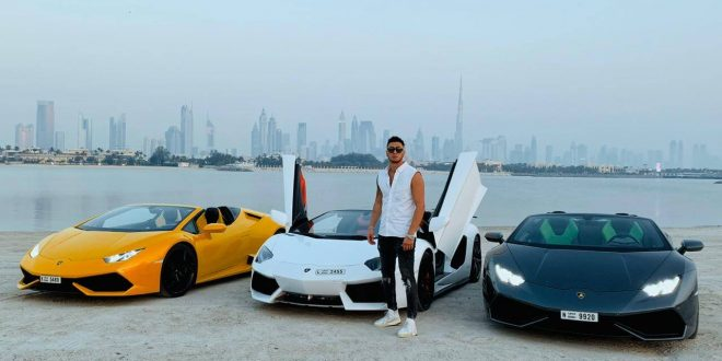 Popular Blogger Muhanad Besh Aka Rich Gets Candid About His Love For Exotic Cars, Talks About His Meeting With Salt Bae