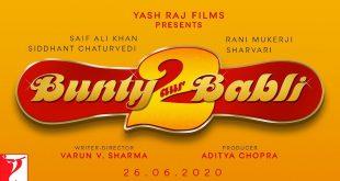 Bunty Aur Babli 2 keeps the same logo as the first film!