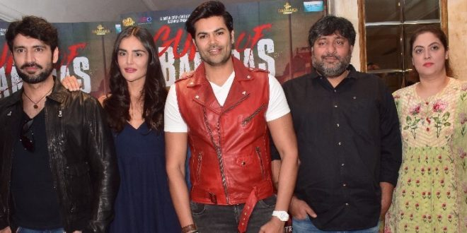 Guns of Banaras Starcast witnessed in National Capital for the Promotions
