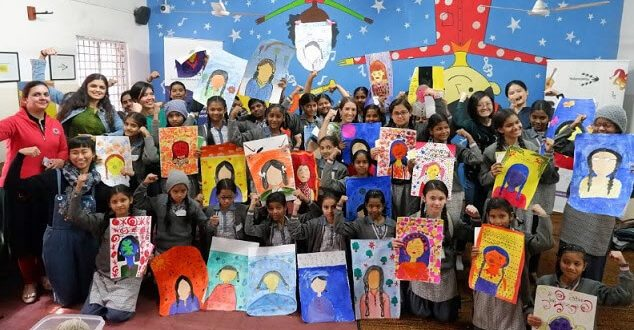 33 Artists from 12 Nationalities from Around the World Come Together to Empower Children and Youth through the Arts