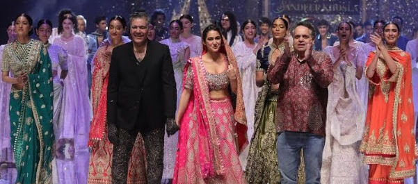 Sara Ali Khan Wows on the Ramp at the Blender's Pride Fashion Tour
